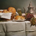 BRADSHAW, Pauline  -Bread, Grapes and Olives